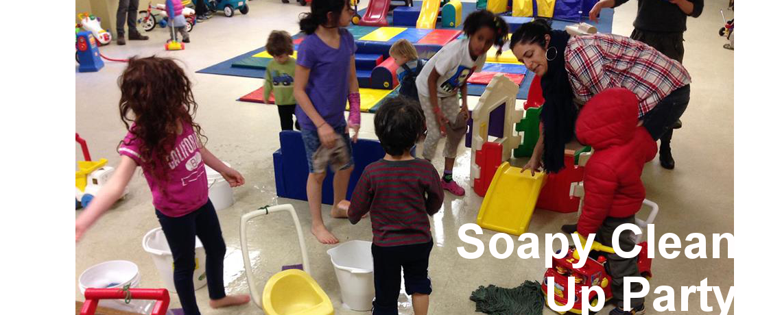 Soapy Clean up Party